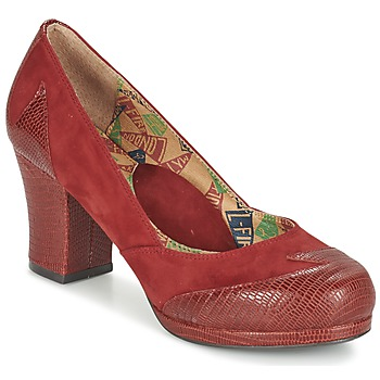 Schoenen Dames pumps Miss L'Fire ADDIE Rood