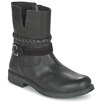 Schoenen Meisjes Laarzen Citrouille et Compagnie FURAMO Zwart