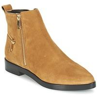 Schoenen Dames Laarzen Kenzo TOTEM FLAT BOOTS  camel