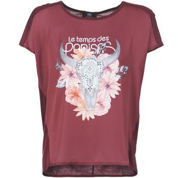 Textiel Dames T-shirts korte mouwen Le Temps des Cerises CRANEFLO Bordeaux