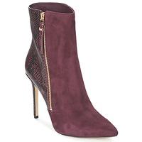 Schoenen Dames Low boots MICHAEL Michael Kors DAWSON BOOTIE Bordeaux