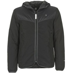 Textiel Heren Wind jackets G-Star Raw SETSCALE HDD OVERSHIRT Zwart