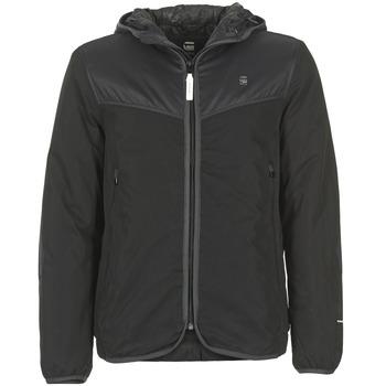 Textiel Heren Wind jackets G-Star Raw SETSCALE HDD OVERSHIRT Zwart