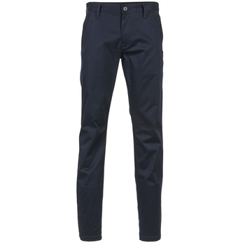 Textiel Heren Chino's G-Star Raw BRONSON SLIM Marine