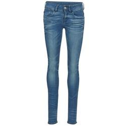 Textiel Dames Skinny Jeans G-Star Raw LYNN MID SKINNY Blauw