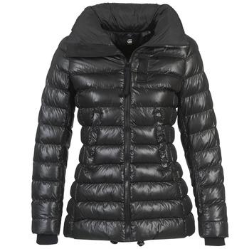 Textiel Dames Dons gevoerde jassen G-Star Raw WHISTLER SLIM COAT Zwart