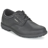 Schoenen Heren Derby Rockport RGD BUC WP PLAINTOE Zwart