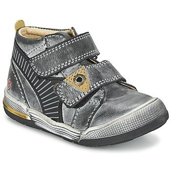 Schoenen Jongens Laarzen GBB NATHAN Grijs / Geel
