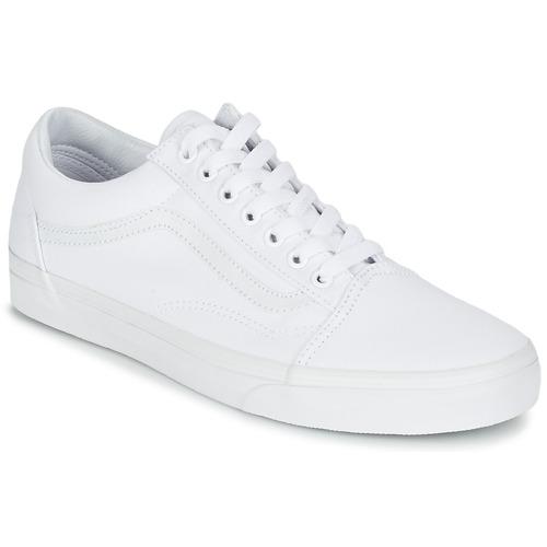 Schoenen Lage sneakers Vans OLD SKOOL Wit
