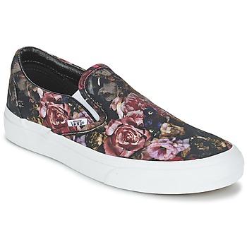 Schoenen Dames Hoge sneakers Vans Classic Slip-On  zwart
