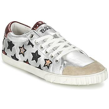 Schoenen Dames Sneakers Ash MAJESTIC Zilver