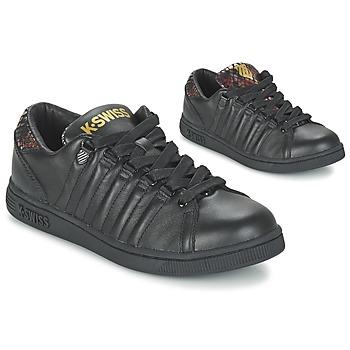Schoenen Dames Lage sneakers K-Swiss LOZAN TONGUE TWISTER Zwart / Goud