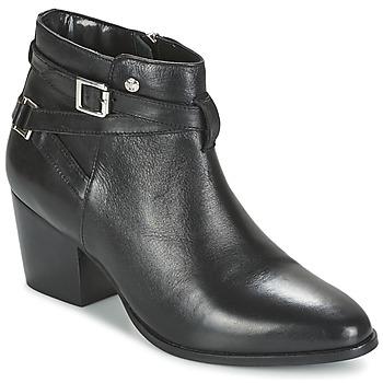 Schoenen Dames Enkellaarzen Elle PEREIRE Zwart