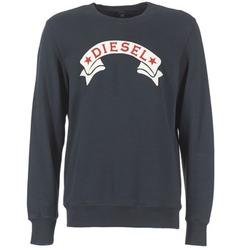Textiel Heren Sweaters / Sweatshirts Diesel S JOE GA Zwart