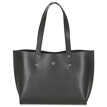Tassen Dames Handtassen lang hengsel Texier NEO Zwart