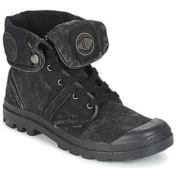Schoenen Heren Laarzen Palladium US BAGGY Zwart / Métallique