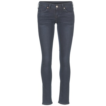 Textiel Dames Skinny jeans Mustang GINA Blauw / Zwart