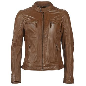 Textiel Heren Leren jas / kunstleren jas Oakwood 60901 Cognac