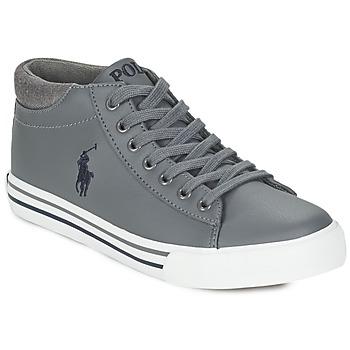 Schoenen Jongens Hoge sneakers Ralph Lauren HARRISON MID Grijs