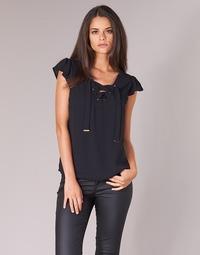 Textiel Dames Tops / Blousjes Moony Mood IFADOU Zwart