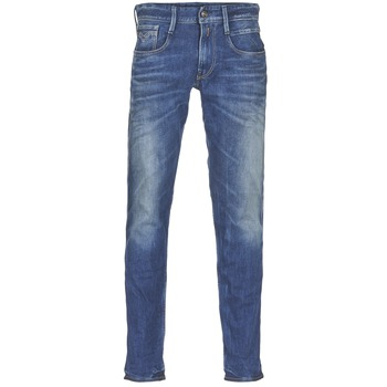 Textiel Heren Skinny jeans Replay ANBASS Blauw / Medium
