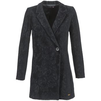 Textiel Dames Mantel jassen Desigual LOUVIALE Zwart