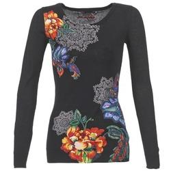 Textiel Dames Truien Desigual EZIBATE Zwart