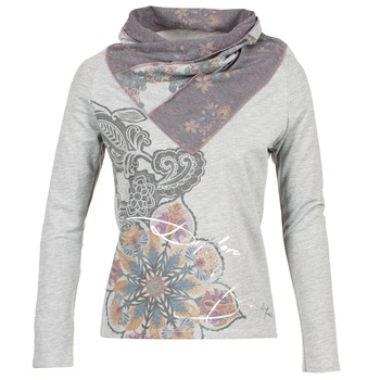 Textiel Dames Sweaters / Sweatshirts Desigual CASMIBA Grijs