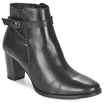 Schoenen Dames Enkellaarzen Betty London FARIANE Zwart