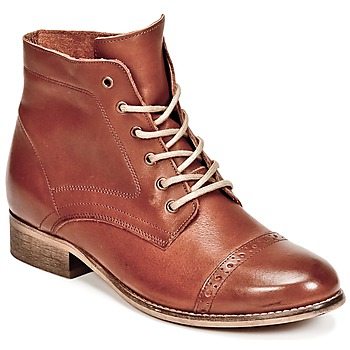 Schoenen Dames Laarzen Betty London FOLIANE  camel