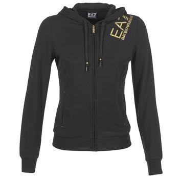 Textiel Dames Sweaters / Sweatshirts Emporio Armani EA7 MOKALO Zwart