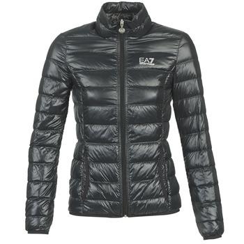 Textiel Dames Dons gevoerde jassen Emporio Armani EA7 OPIAKO Zwart