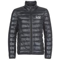 Textiel Heren Dons gevoerde jassen Emporio Armani EA7 JAFOUKARO Zwart