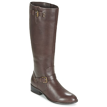 Schoenen Dames Hoge laarzen Ralph Lauren MARRONA Brown