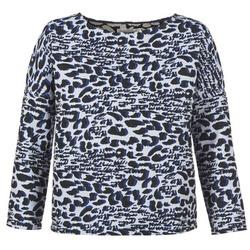 Textiel Dames Truien See U Soon SAVERIA Grijs / Zwart / Blauw