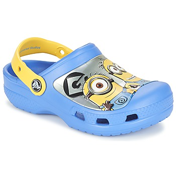 Schoenen Kinderen Klompen Crocs CC Minions Clog Blauw / Geel