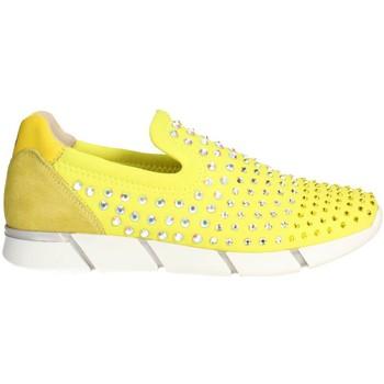 Schoenen Dames Instappers Florens F1330 Yellow