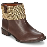 Schoenen Dames Laarzen Schutz WAIPOHI Brown