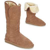 Schoenen Dames Hoge laarzen Les Tropéziennes par M Belarbi ARCTIQUE  camel