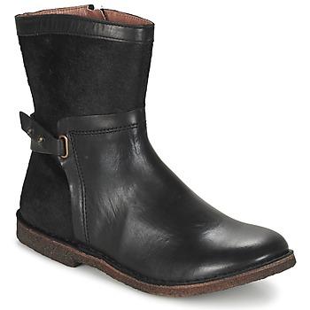 Schoenen Dames Laarzen Kickers CRICKET Zwart