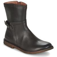Schoenen Dames Laarzen Kickers CRICKET Brown / Donker
