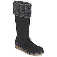 Schoenen Dames Hoge laarzen Kickers KARINE Zwart
