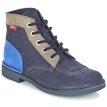 Schoenen Dames Laarzen Kickers KICK COL Marine
