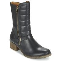 Schoenen Dames Laarzen Kickers MILLIER Zwart