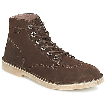 Schoenen Heren Laarzen Kickers ORILEGEND Brown / Donker
