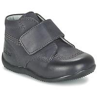 Schoenen Kinderen Laarzen Kickers BILOU Zwart