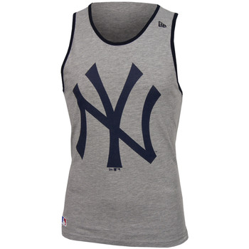Textiel Heren Mouwloze tops New Era MLB New York Yankees og tank Grijs