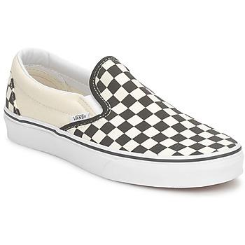 Schoenen Instappers Vans CLASSIC SLIP ON Zwart / Wit