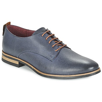 Schoenen Dames Derby Betty London FLUDE Blauw