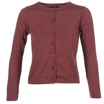 Textiel Dames Vesten / Cardigans BOTD EVANITOA Bordeaux